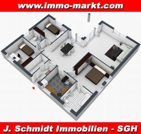 FIBAV Winkelbungalow Bernburg - Wfl.: ca. 119 m²