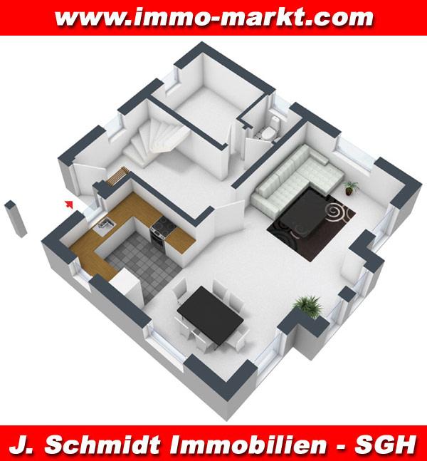 Stadtvilla grundriss 3d  FIBAV Stadtvilla Naumburg - Wohnfläche: ca. 106 m²