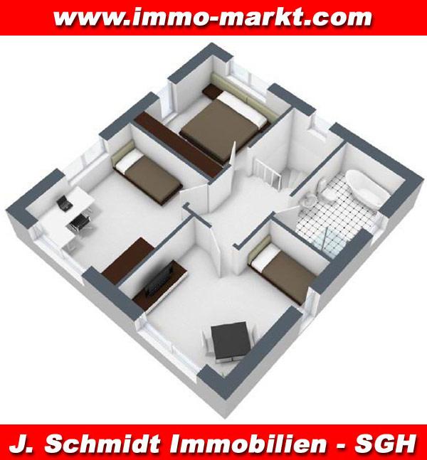 Stadtvilla grundriss 3d  FIBAV Stadtvilla Kubus II- Wohnfläche: ca. 120 m²