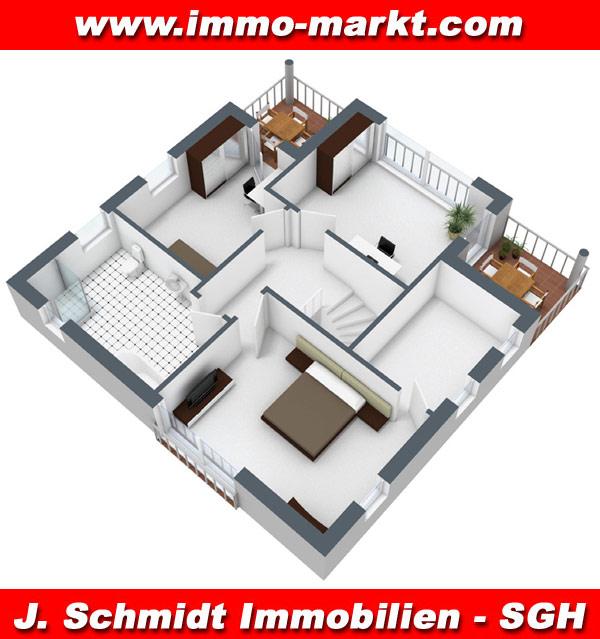 Stadtvilla grundriss 3d  FIBAV Stadtvilla Rheinsberg - Wohnfläche: ca. 144 m²
